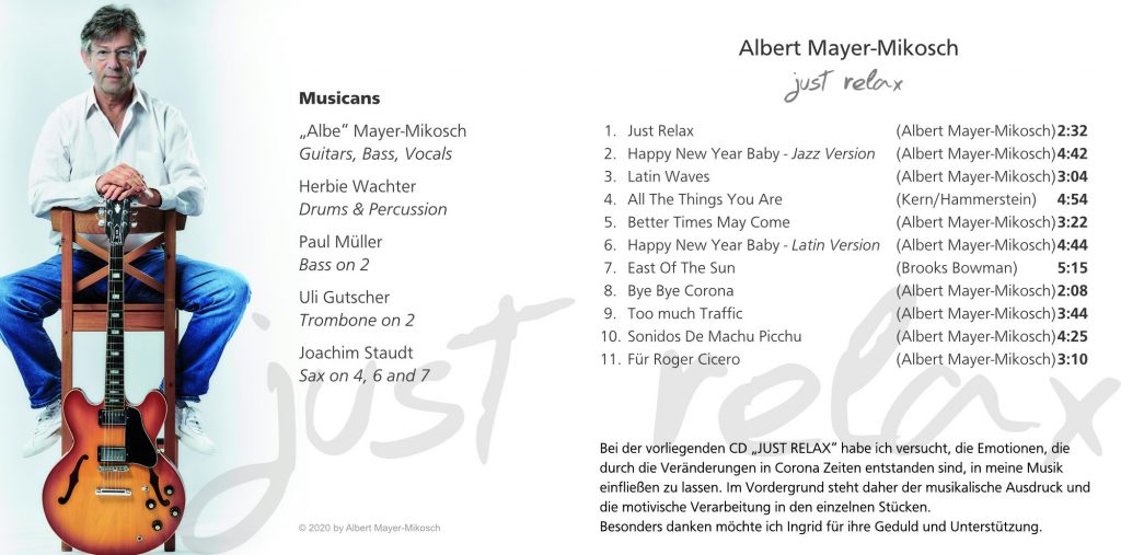 Albert Mayer-Mikosch - Just Relax